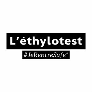 éthylotest #jerentresafe sans ballon personnalisable
