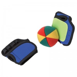 Kit réflexes avec balle et gants en velcro