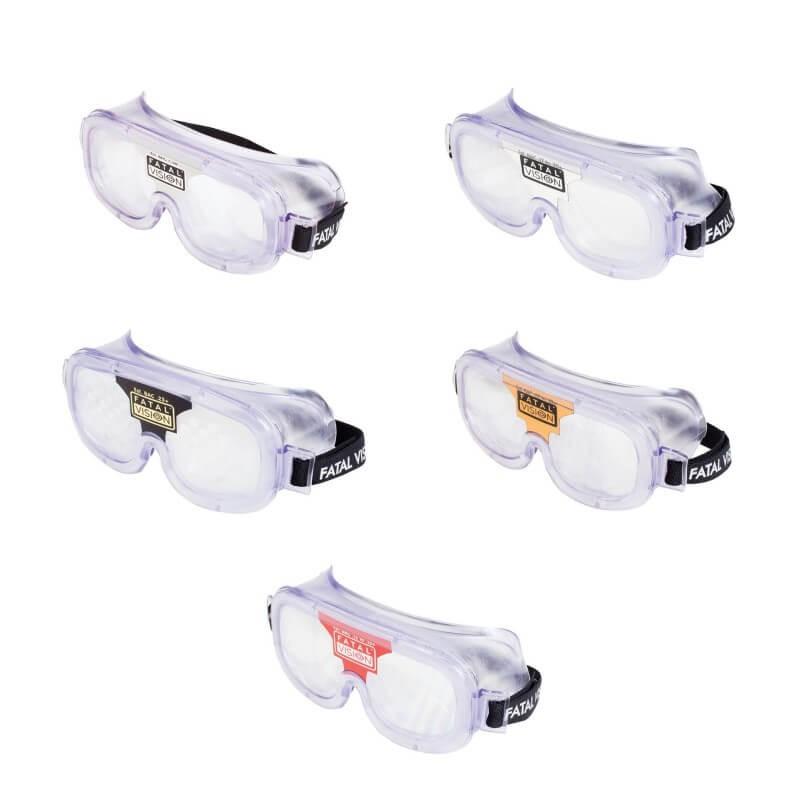 Pack de 5 lunettes alcool -  0,5 g/l - 0,8g/l - 1,3 g/l - 2,0 g/l - 2,5 g/l, en version jour FatalVision®