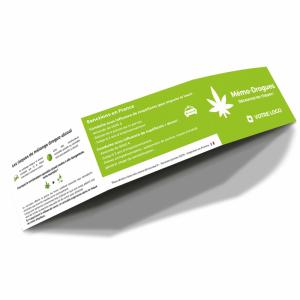 Réglette mémo-drogues Drivecase personnalisable