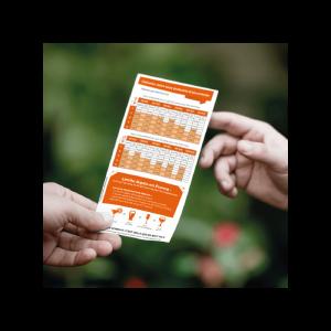 flyer prévention alcool personnalisé avec taux d'alcoolémie